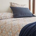 Geometric Print Duvet Cover Flat Sheets Bed Linen Bedroom Zara Home Brasil