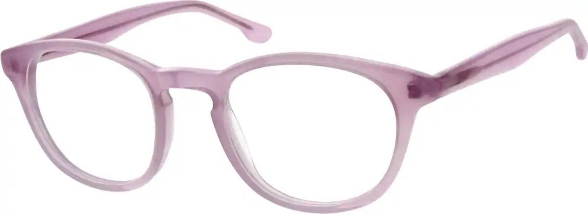 Pink Acetate Full Rim Frame 1044 Zenni Optical Eyeglasses