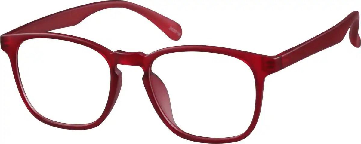 Translucent Square Glasses 20201 Zenni Optical Eyeglasses