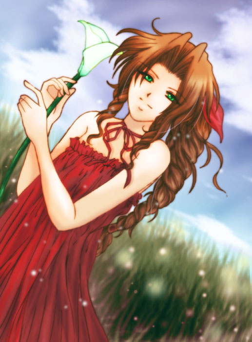 Aerith Gainsborough Final Fantasy VII Page 4 Of 12
