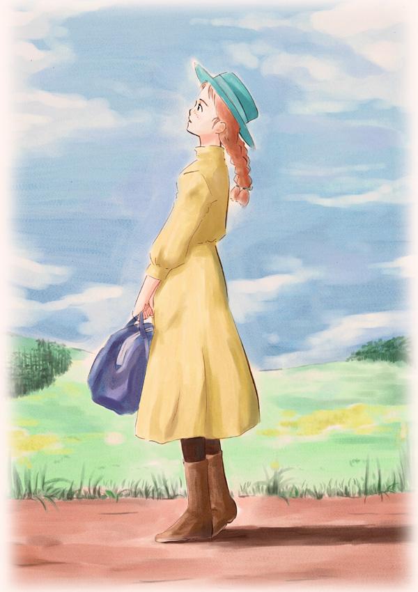 Cartoon Green Gables Anne