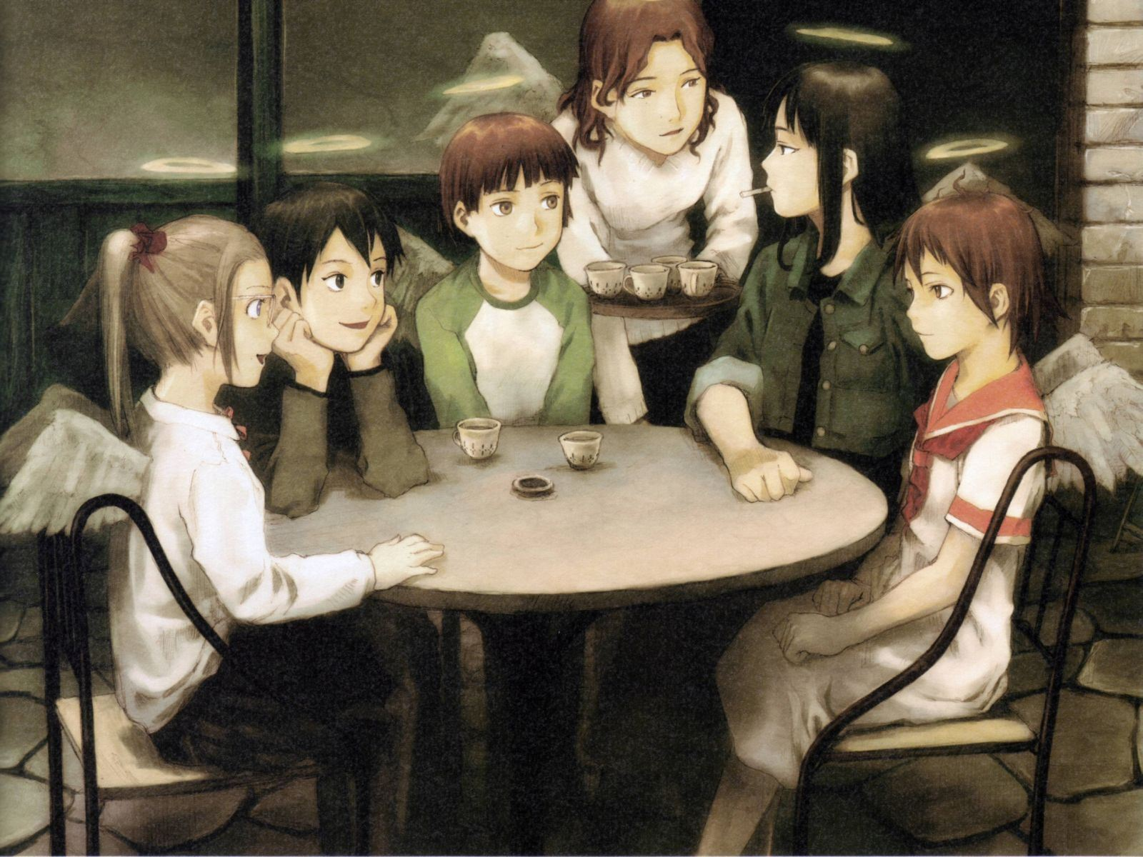 Image result for haibane renmei