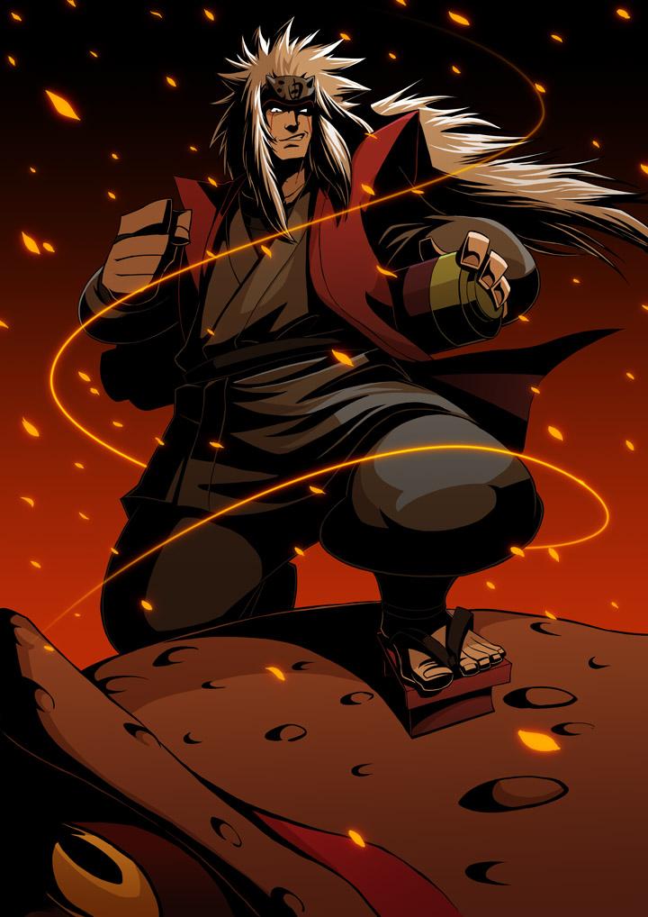 17 nine tails chakra mode. Jiraiya (NARUTO) - Zerochan Anime Image Board