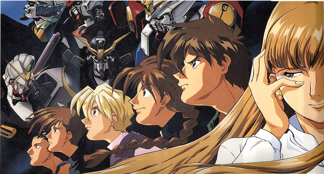 Image result for Gundam Wing