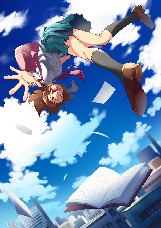 New ochako uraraka background theme. Uraraka Ochako - Boku no Hero Academia - Zerochan Anime ...