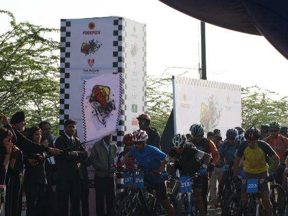 Firestorm event being flagged off