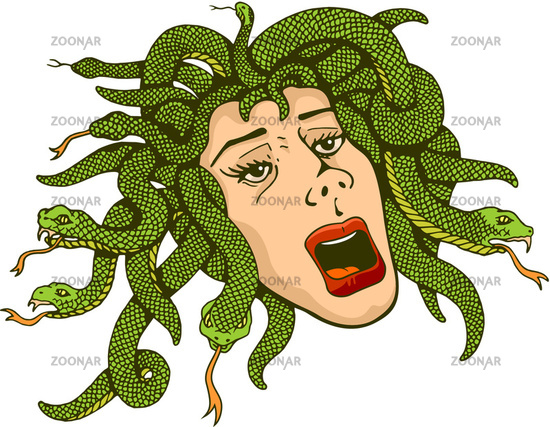 How To Paint The Face Of Medusa EHow UK