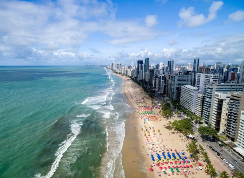 praia fortaleza ceara brasil