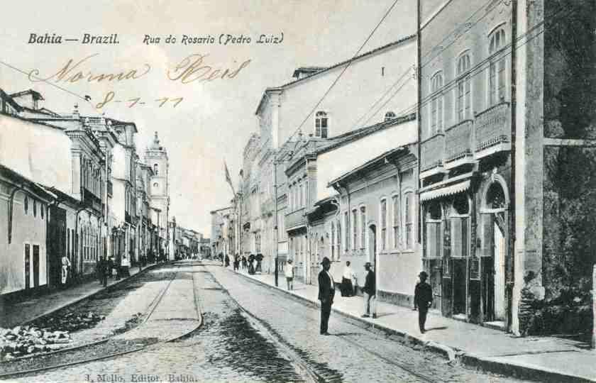 rua do rosario salvador avenida sete de setembro 1910