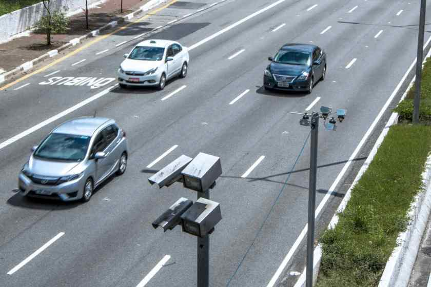 radar eletronico são paulo multa carros