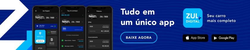 banner telas do app zul+ tudo do carro