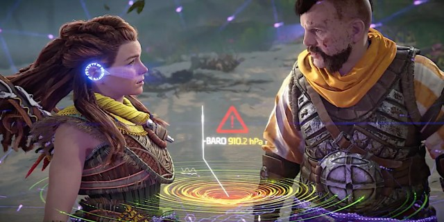 Horizon Forbidden West Reveals First Gameplay in PS5 Showcase
