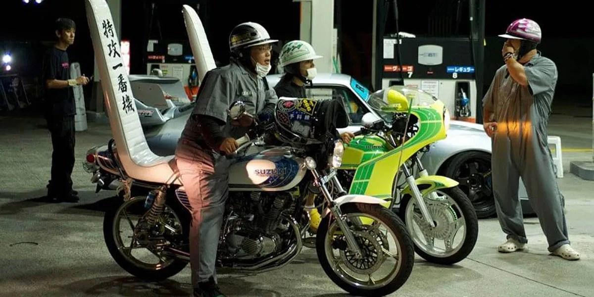 Modified Bōsōzoku Motorcycles