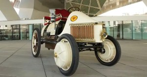 That's what inspired the first hybrid car