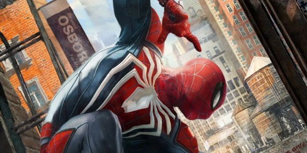 Insomniac Games' Spider-Man PS4 Art Revealed | ScreenRant