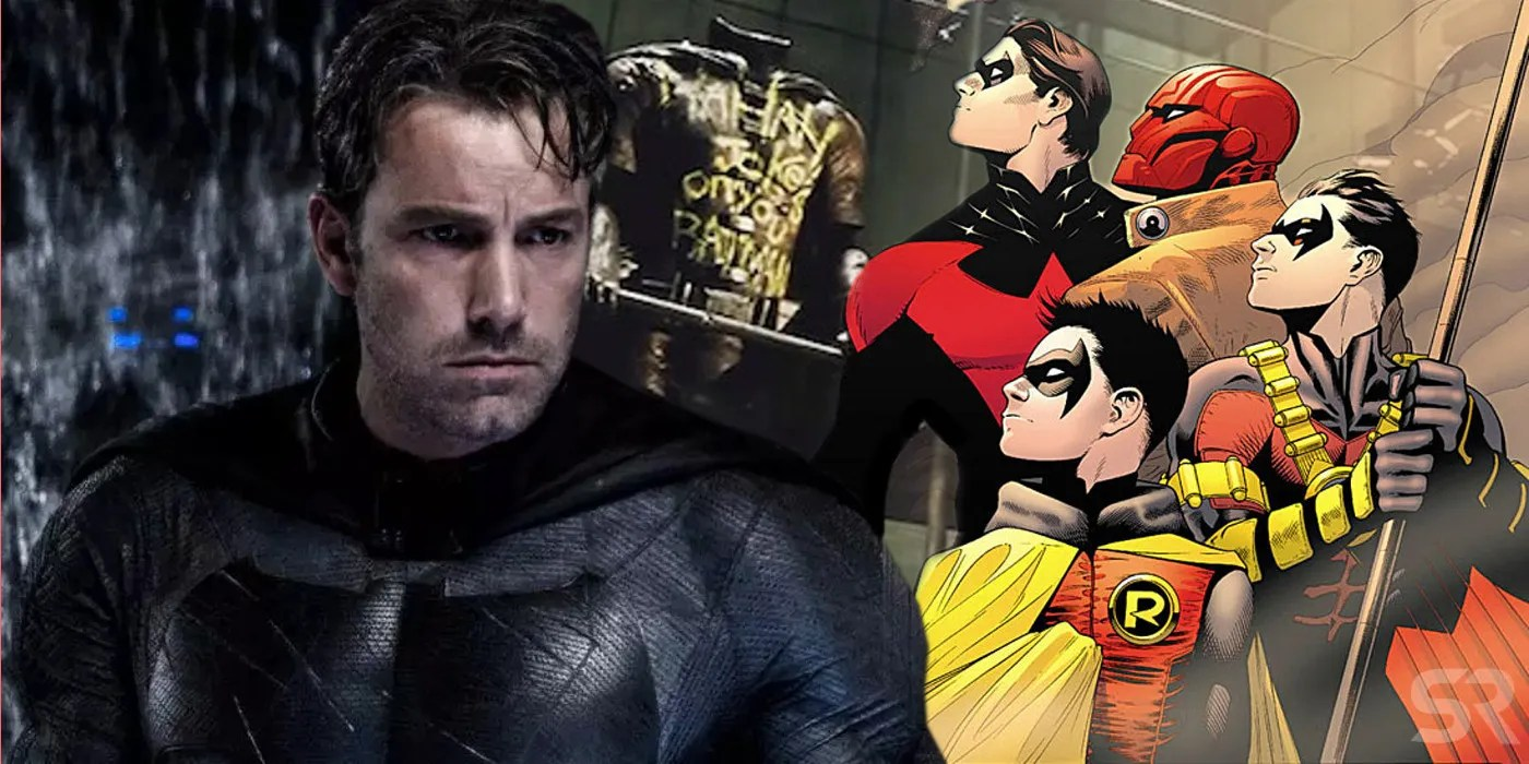 Batman Movie Dont Expect Multiple Robins In The DCEU