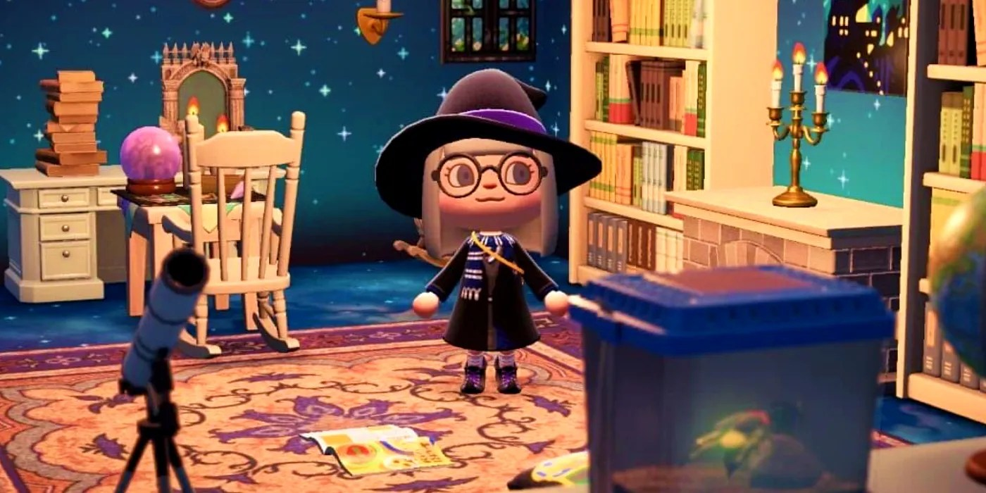 Animal Crossing Harry Potter Common Room Designs Are ... on Animal Crossing Room Ideas New Horizons  id=17101