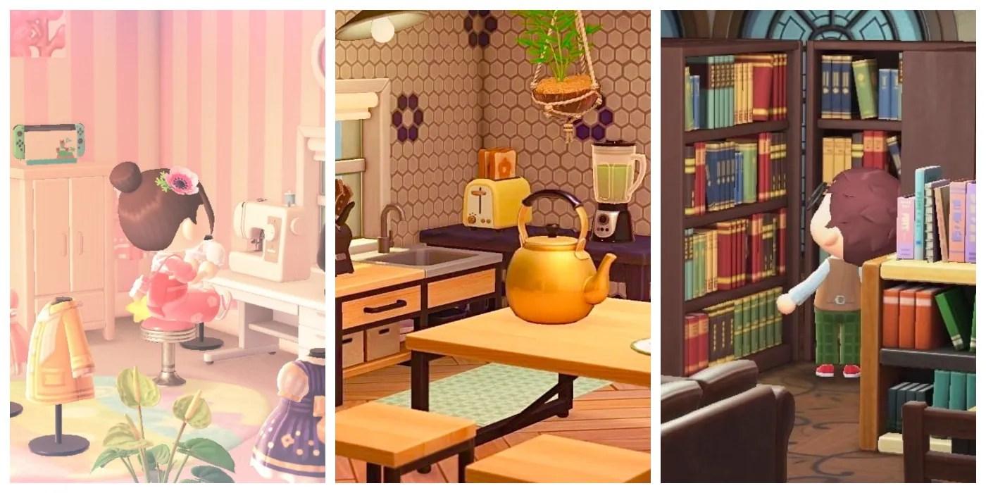 Living Room Ideas Acnh - jihanshanum on Animal Crossing New Horizons Bedroom Ideas  id=22025