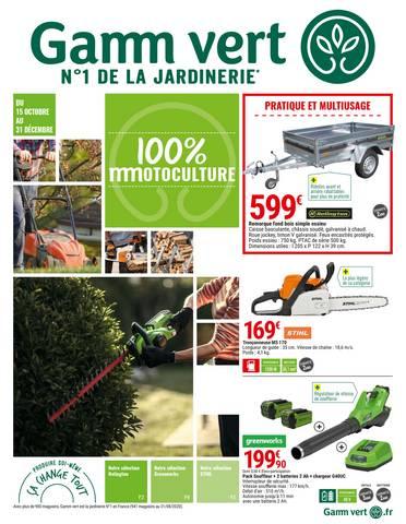 gamm vert promotions et catalogues