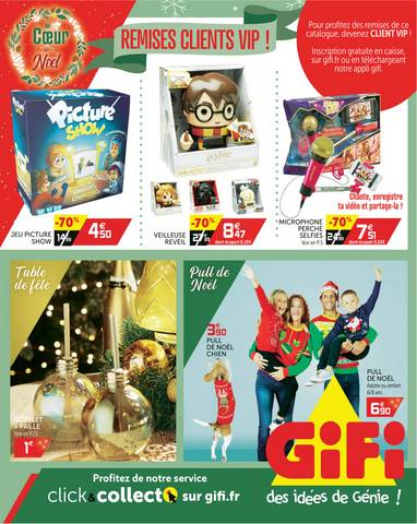gifi promotions et catalogues avril