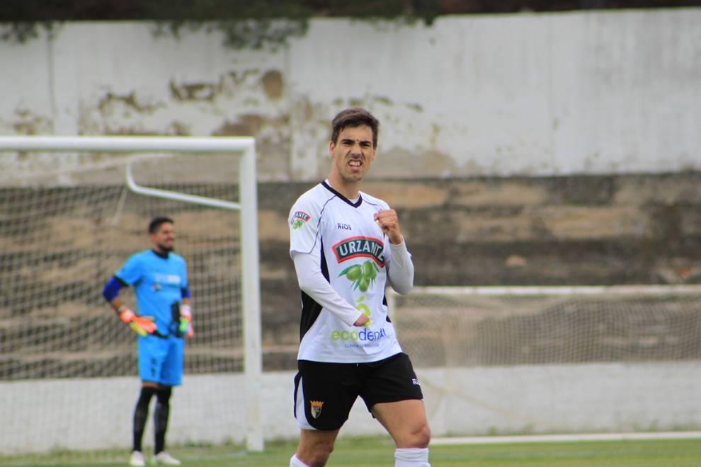 Alex Sanchez con el Tudelano