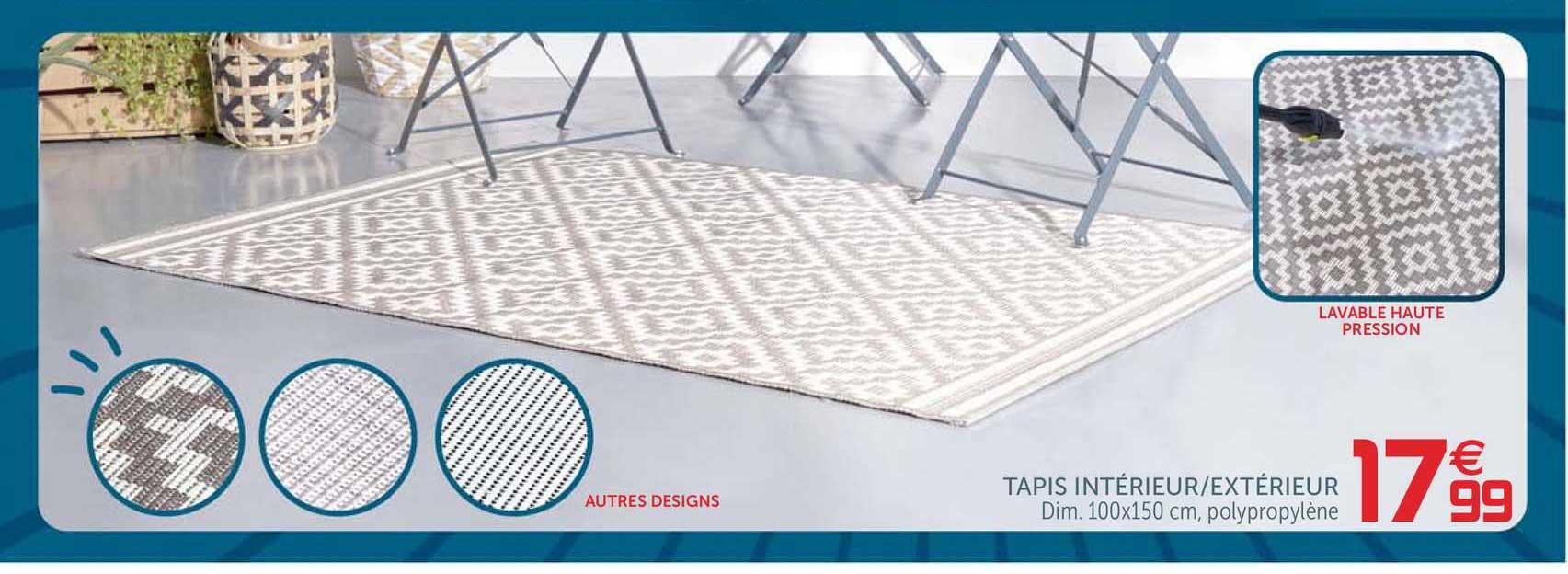 offre tapis interieur exterieur chez gifi