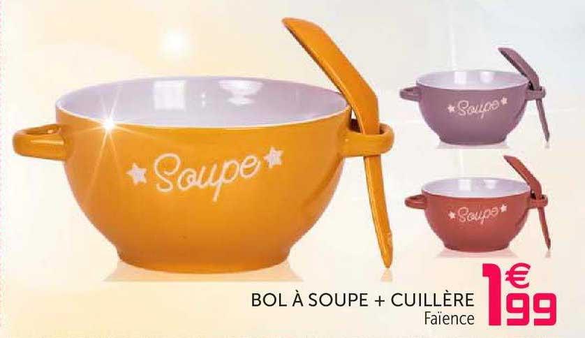 offre bol a soupe cuillere chez gifi