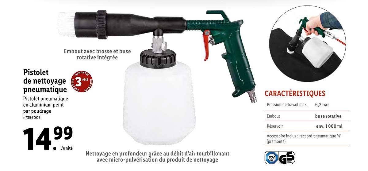 offre pistolet de nettoyage pneumatique