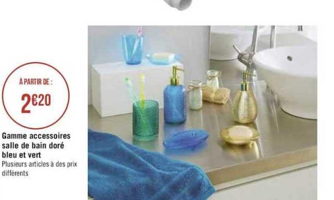 offre gamme accessoires salle de bain