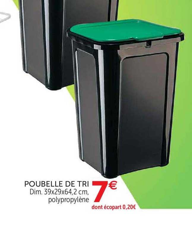 offre poubelle de tri chez gifi