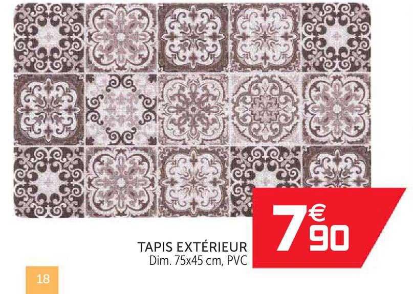 offre tapis exterieur chez gifi