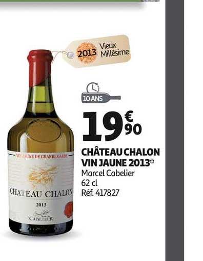 offre chateau chalon vin jaune 2013