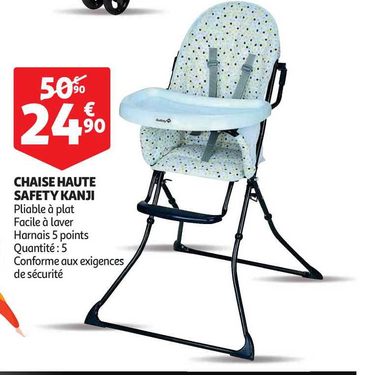 offre chaise haute kiwi safety first