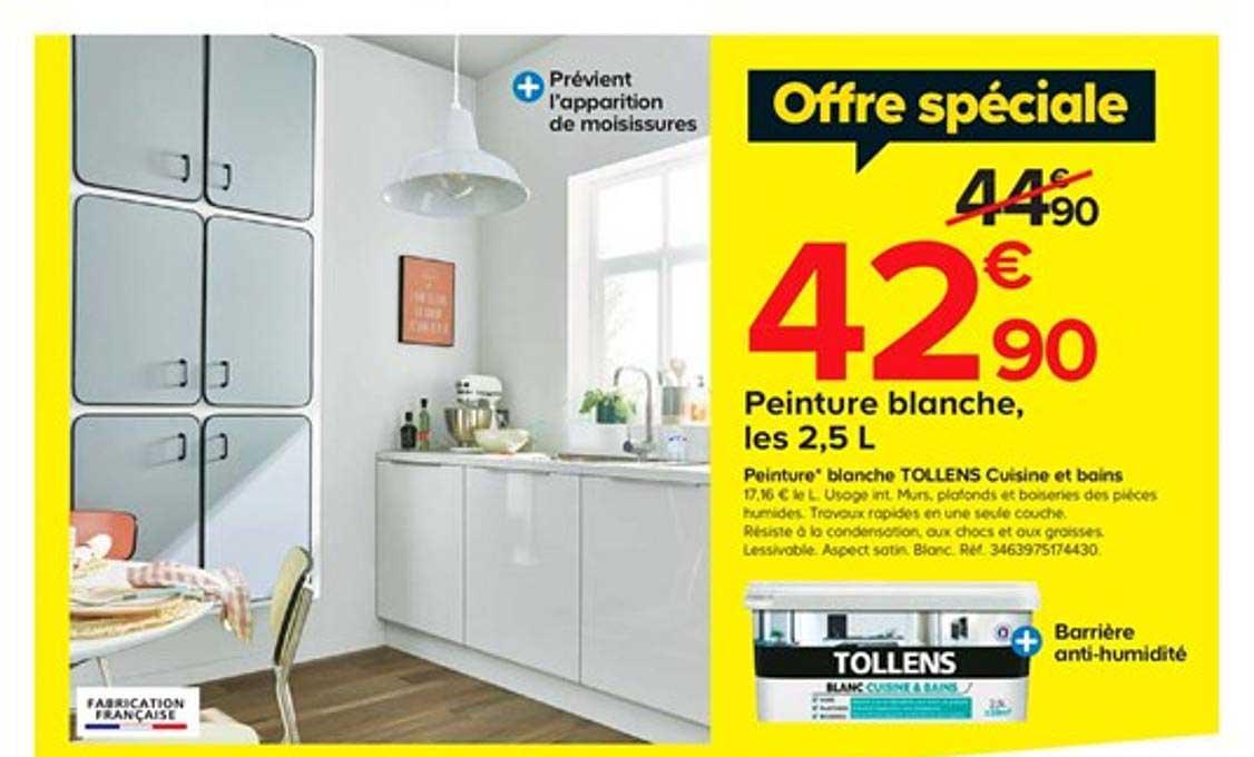 https www icatalogue fr i castorama peinture blanche tollens cuisine et bains 266262
