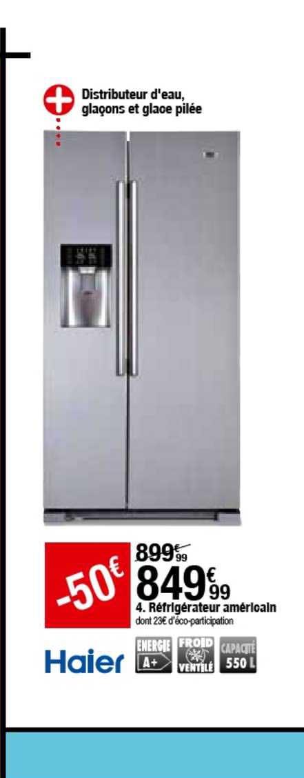 offre refrigerateur americain chez but