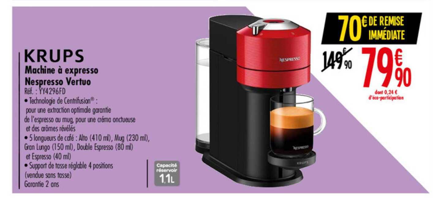 offre machine a expresso nespresso