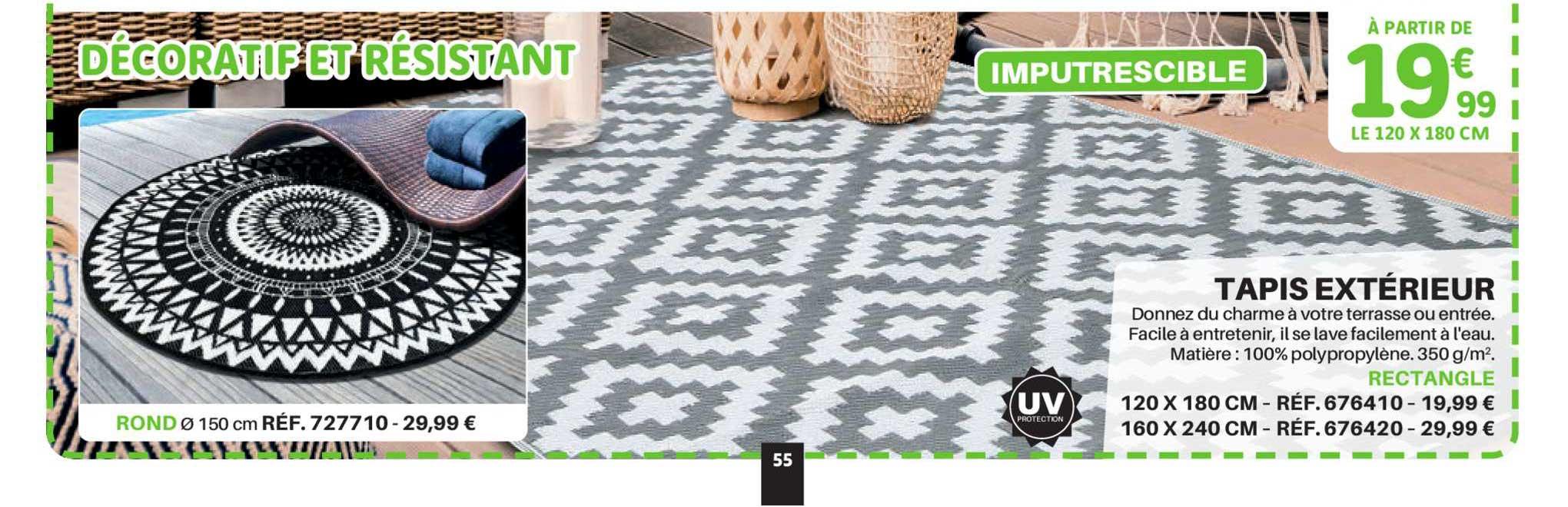 offre tapis d exterieur chez gifi