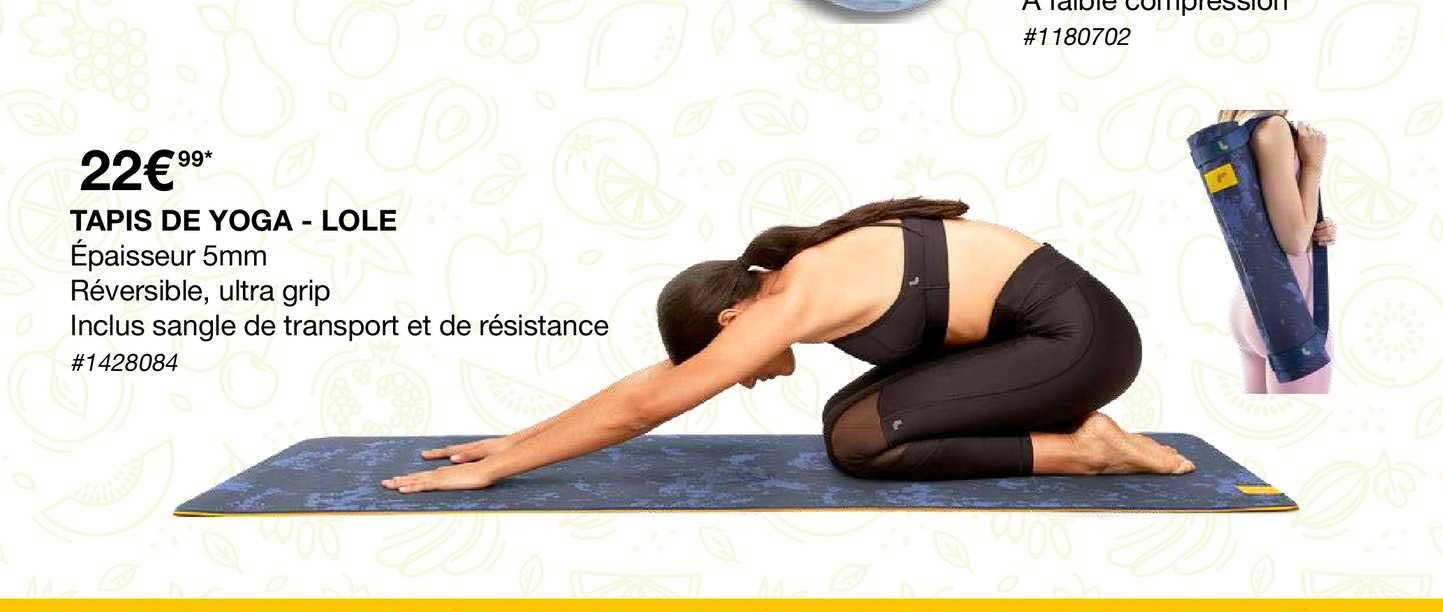 offre tapis de yoga lole chez costco
