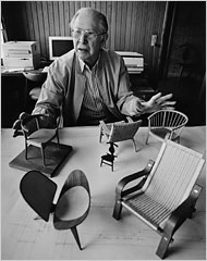 Hans Wegner Dies At 92 Danish Furniture Designer The