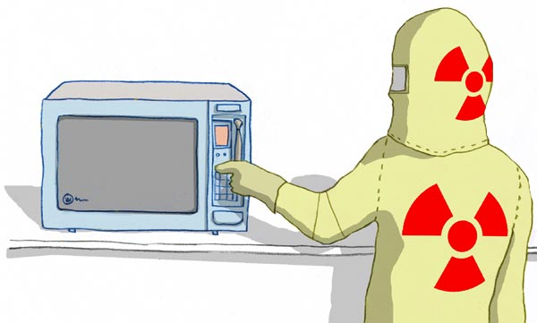 microwave ovens safety radiation