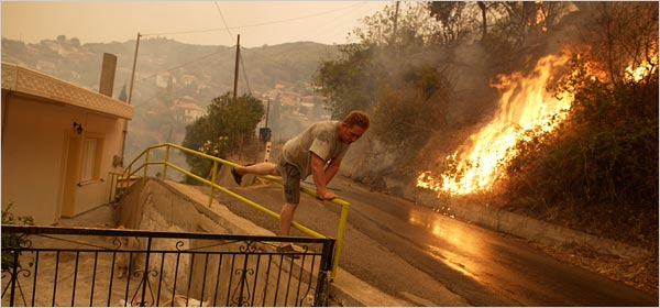 Greek Fires Kill 12 More And Threaten Antiquities The