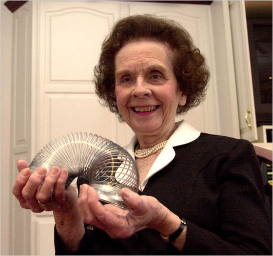 Betty James, Who Named the Slinky Toy, Is Dead at 90 - The New York Times
