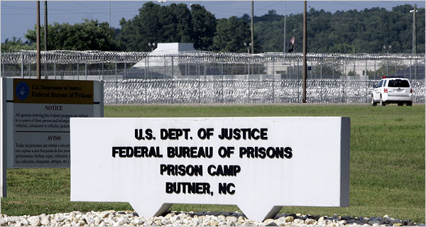 Madoff Arrives At Federal Prison In North Carolina The