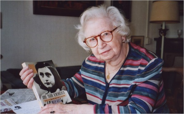Miep Gies, the Last of Those Who Hid Anne Frank, Dies at ...