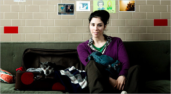 From Sarah Silverman An Adorable Look Followed By A