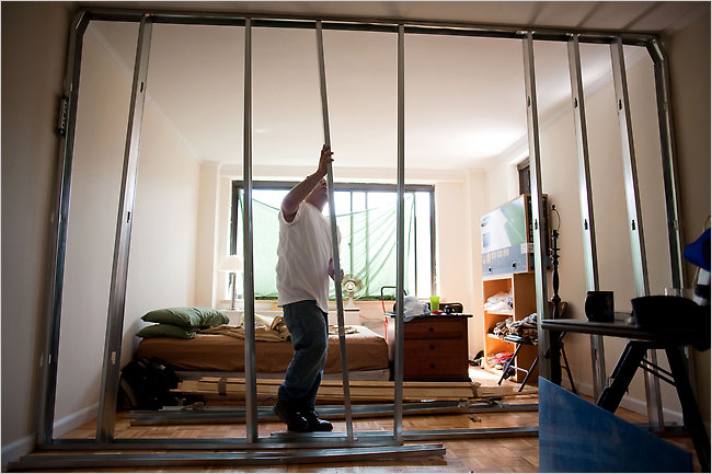 The Fall Of Temporary Apartment Walls The New York Times