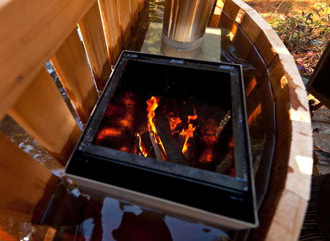 A Wood Fired Hot Tub For An Old Style Soak The New York