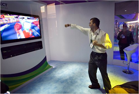 Microsofts Kinect The New Mouse The New York Times