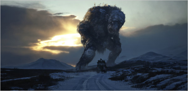 "A scene from ""Trollhunter,"" André Ovredal's mock documentary, which mixes the Norwegian landscape and dry Nordic humor."