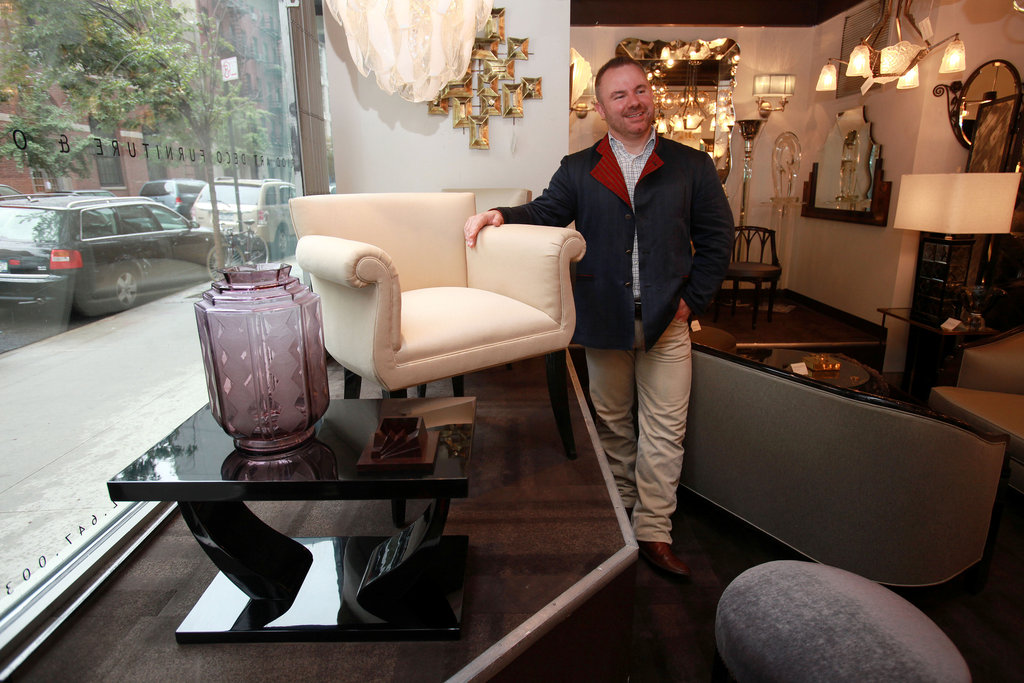 Art Deco Objects Shopping With Guy Oliver The New York